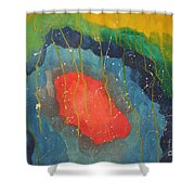 2012 The Light Of The Universe Shower Curtain