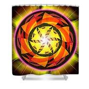 The Light Of Zen Shower Curtain