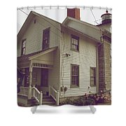 The Lighthouse Museum Shower Curtain