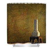 The Lighthouse - Port Washington Shower Curtain