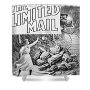 The Limited Mail, 1899 Shower Curtain