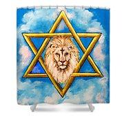 The Lion Of Judah #5 Shower Curtain