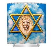 The Lion Of Judah #5 Shower Curtain