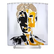 The Literary Man Shower Curtain