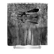 The Little Boat Photoart Shower Curtain