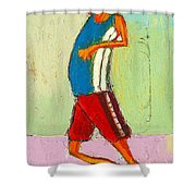 The Little Champion Shower Curtain