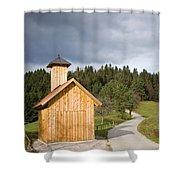 The Little Chapel Shower Curtain