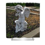 The Little Cherub Shower Curtain