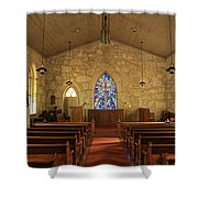 The Little Church Of La Villita Shower Curtain