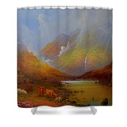 The Little Croft On The Isle Of Skye Scotland Shower Curtain