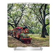 The Little Engine That Could - City Park New Orleans Shower Curtain