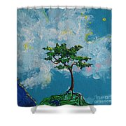 The Little Grove - Little Tree Shower Curtain