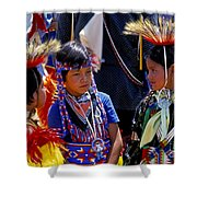 The Little Warriors Shower Curtain