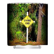 The Living End Shower Curtain