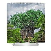 The Living Tree Walt Disney World Shower Curtain
