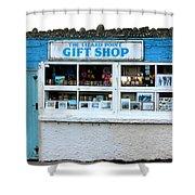 The Lizard Point Gift Shop  Shower Curtain