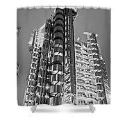 The Lloyd's Building - London Shower Curtain