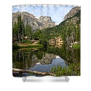 The Loch - Rocky Mountain National Park Shower Curtain