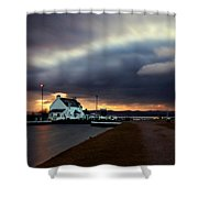 The Lock Keeper's House Shower Curtain