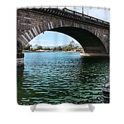 The London Bridge Is In Arizona Shower Curtain