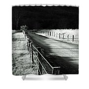 The Lone Photographer Shower Curtain