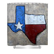 The Lone Star State Shower Curtain