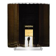 The Lonely Parisian Shower Curtain