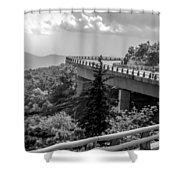 The Long And Winding Road Shower Curtain