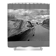 The Long Road Home - Ford Torino Cobra Jet Shower Curtain