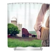 The Long Walk To School Shower Curtain
