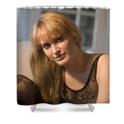 The Look 9 Shower Curtain