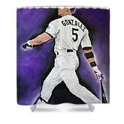 Carlos Gonzales Shower Curtain