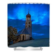 The Lord Is My Light - The Italian Dolomites Shower Curtain