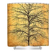 The Lord Jesus Is The Tree Of Life Shower Curtain