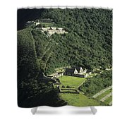 The Lost City Of Choquequirao Shower Curtain