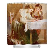 The Love Letter, 1871 Shower Curtain