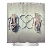 The Love Of A Ballerina Shower Curtain
