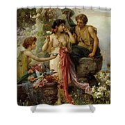 The Love Offering Shower Curtain