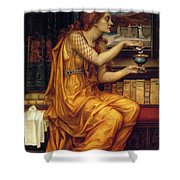 The Love Potion Shower Curtain