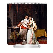 The Lovers Farewell Shower Curtain