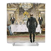 The Lucky Rich, 1896 Shower Curtain