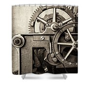 The Machine Shower Curtain by Martin Bergsma