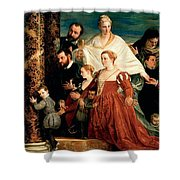 The Madonna Of The Cuccina Family Shower Curtain