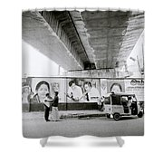 The Madras Street Shower Curtain