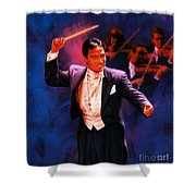 The Maestro Shower Curtain