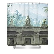 The Magic Flute Shower Curtain