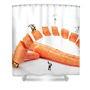 The Magic Show Little People Big Worlds Shower Curtain