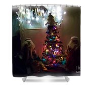 The Magical Tree Shower Curtain