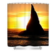 The Magician's Hat Shower Curtain