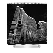 The Magnificent Aria Resort And Casino At Citycenter In Las Vegas Shower Curtain